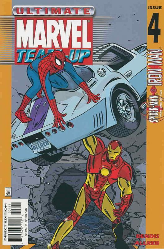 Ultimate Marvel Team-Up #4 VF/NM; Marvel | save on shipping - details inside