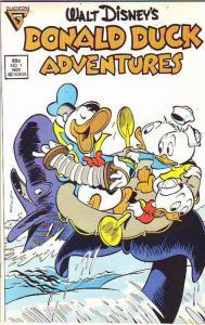 Donald Duck, Walt Disney's Adventures #1 (Nov-87) VF/NM High-Grade Donald Duck