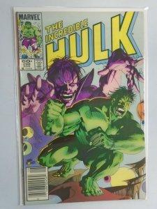 Incredible Hulk #298 News Stand edition 6.0 FN (1984 1st Series)