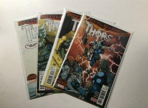 Thors Battleworld 1-4 1 2 3 4 Lot Run Set Near Mint Nm Marvel