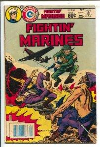 Fightin' Marines #168 1982-Charlton-Sam Glanzman art-violent-VG