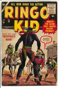Ringo Kid #10 1956-Marvel-John Severin cover art-P