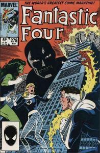 Marvel FANTASTIC FOUR (1961 Series) #278 VF