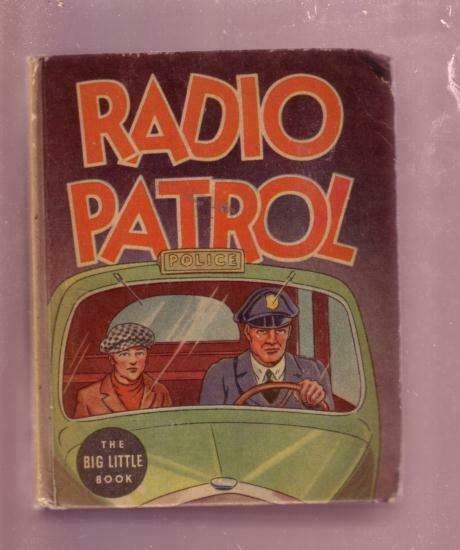 RADIO PATROL-EDDIE SULLIVAN CHARLIE SCHMIDT #1142 BLB- FN