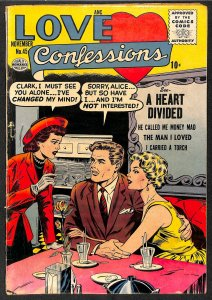 Love Confessions #45 VG+ 4.5