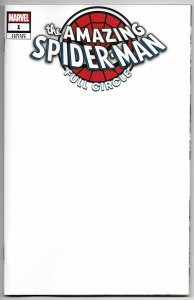 Amazing Spider-Man Full Circle #1 Blank Sketch Variant (Marvel, 2019)
