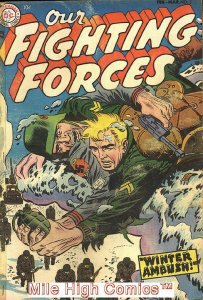 OUR FIGHTING FORCES (1954 Series) #3 Good Comics Book