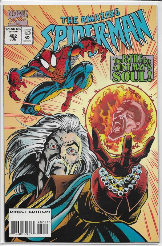 Amazing Spider-Man   vol. 1   #402 FN/VF (Crossfire 1)