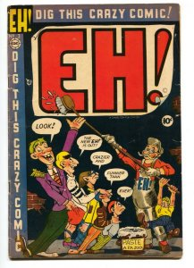 Eh! #3 1954-Charlton comics- MAD swipe VG+
