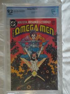 Omega Men #3 - CBCS 9.2 - 1st Appearance of Lobo