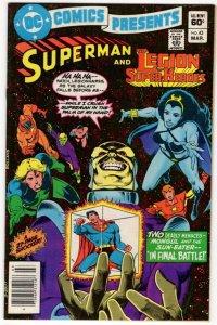 DC Comics Presents #43 Legion Of Super-Heroes