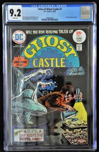 Ghost Castle #1 (DC, 1975) CGC 9.2