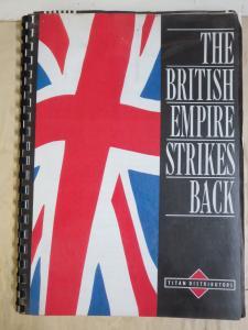 The British Empire Strikes Back Titan Books Distributors Samples of UK Comics
