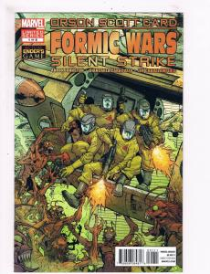 Orson Scott Card Formic Wars Silent Strike # 1 VF 1st Print Marvel Comics S63