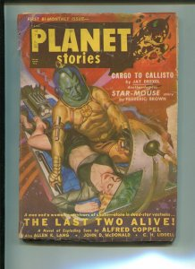 Planet Stories Pulp November 1950-JOHN D. MACDONALD-FREDRIC BROWN-G