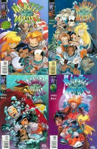 MONSTER WORLD (2001 WS) 1-4  complete series!