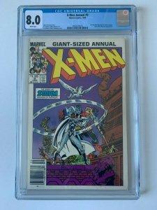 Uncanny X-Men Annual #9 Storm Goddess of Thunder - CGC 8.0