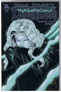 LADY DEATH : WAR of the WIND #2, NM+, Platinum ,Variant, more LD in store