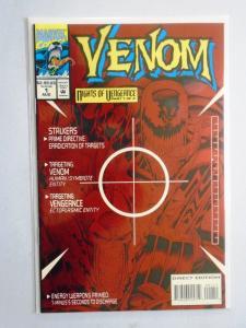 Venom Nights of Vengeance #1, Direct Edition 8.0/VF (1994)