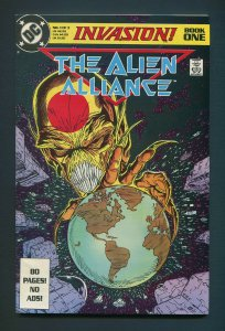 Invasion The Alien Alliance #1  / 8.5 VFN+ / October 1988
