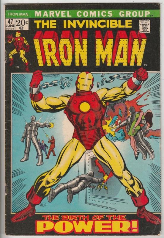 Iron Man #47 (Jun-71) FN+ Mid-High-Grade Iron Man