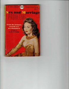 3 Books Sex and Marriage Problems Free Woman The Winds of Fear JK10