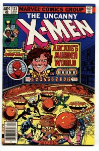 UNCANNY X-MEN #123 comic 1979-MARVEL COMICS--SPIDER-MAN ISSUE VF/NM
