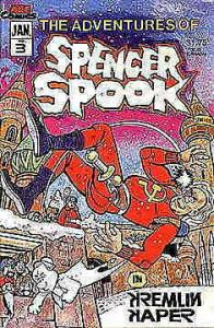 Adventures of Spencer Spook, The #3 VF; Animated Comics Enterprises | save on sh
