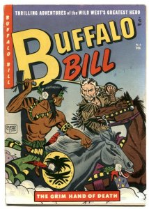 Buffalo Bill #9 1951- Golden Age Western- FN