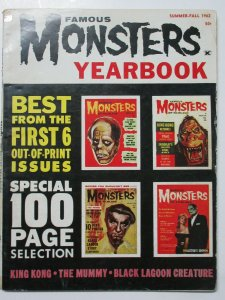 Famous Monsters Yearbook Summer-Fall 1962 Best from First 6 Issues! 100pgs!