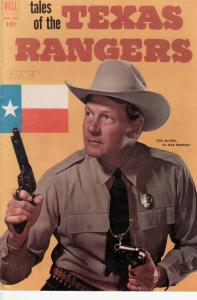 TALES OF TEXAS RANGERS FOUR COLOR #396 EGYPTIAN COLLECT FN/VF