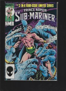 Prince Namor, the Sub-Mariner #3 (1984)