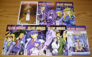 Silent Mobius: Karma #1-7 VF/NM complete series - kia asamiya - viz manga set