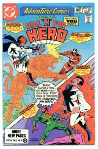 Adventure Comics 487 Nov 1981 NM- (9.2)