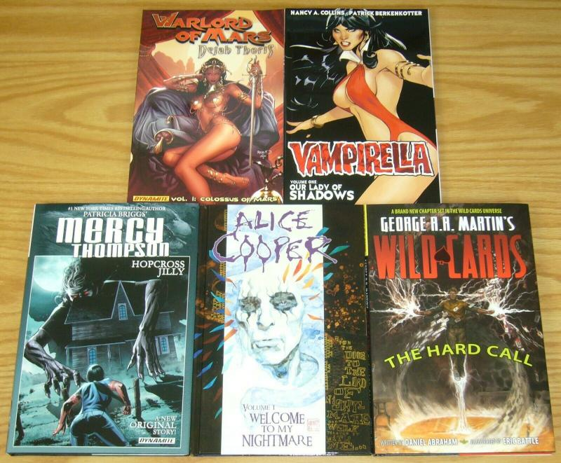 Lot of (15) Dynamite TPBs/HCs - alice cooper - twilight zone - (value: $288)