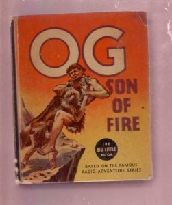 OG, SON OF FIRE-IRVING CRUMP 1936-BLB #1115-PREHISTORIC FN