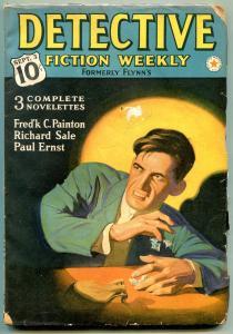 Detective Fiction Weekly Pulp September 3 1938- Richard Sale- Ernst G/VG
