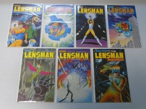 Lensman 2 sets 13 different issues 6.0 FN (1990)
