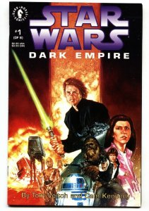 Star Wars: Dark Empire #1-1991-TOM VEITCH-CAM KENNEDY vf/nm