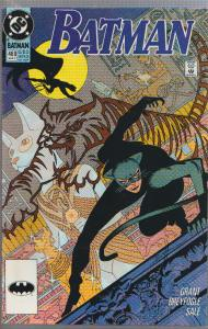 BATMAN #460 - CATWOMAN COVER - 1991 - DC COMIC - BAGGED & BOARDED