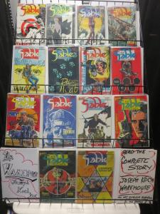 Jon Sable Freelance by Mike Grell (First 1983-88) #7-56 Lot of 43Diff Thrillers