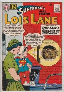 Lois Lane, Superman's Girlfriend  #32 (Apr-62) FN/VF+ High-Grade Superman, Lo...