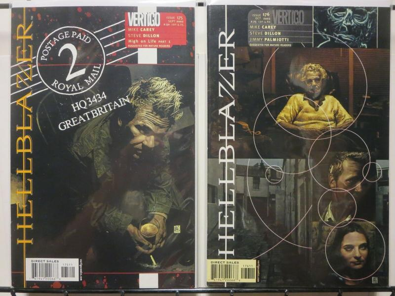 HELLBLAZER 175-176  High On Life  S&A RECOMMENDED!!!