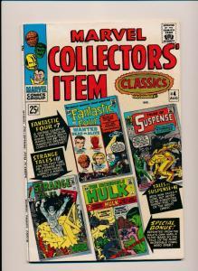 MARVEL COLLECTORS' ITEM CLASSICS #4 1966 VG/FINE (PF377)