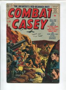 COMBAT CASEY #33 1956-ATLAS-JOE SEVERIN-VG+