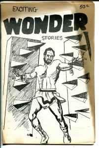 Exciting Wonder Stories #1 1963-1st issue-Forrest J Ackerman-Frankenstein-VG