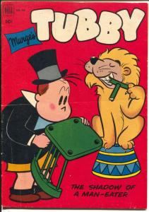 Tubby-Four Color Comics #430-1950-Dell-lion tamer-created by Marge-VG/FN