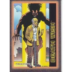 1993 Skybox Ultraverse: Series 1 DEATH WISH #56