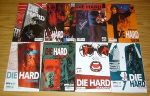 Die Hard: Year One #1-8 VF/NM complete series JOHN MCCLANE PREQUEL chaykin set A