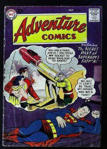 Adventure Comics (1938 series) #238, VG- (Actual scan)